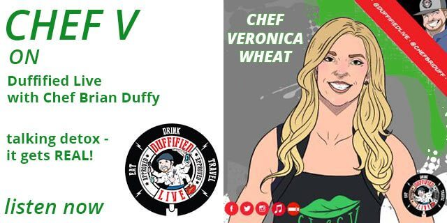 Chef Duffy interview with Veronica Wheat, Chef V