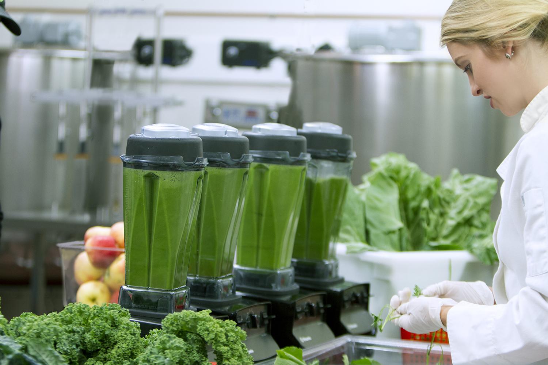 making green drink
