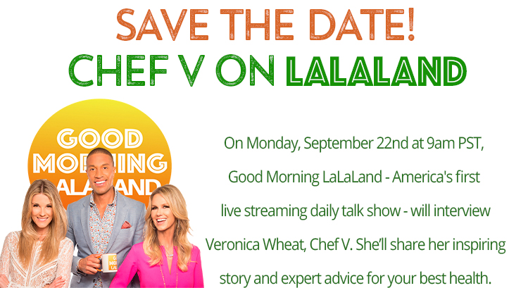 Chef V Interview on Good Morning LALALAND