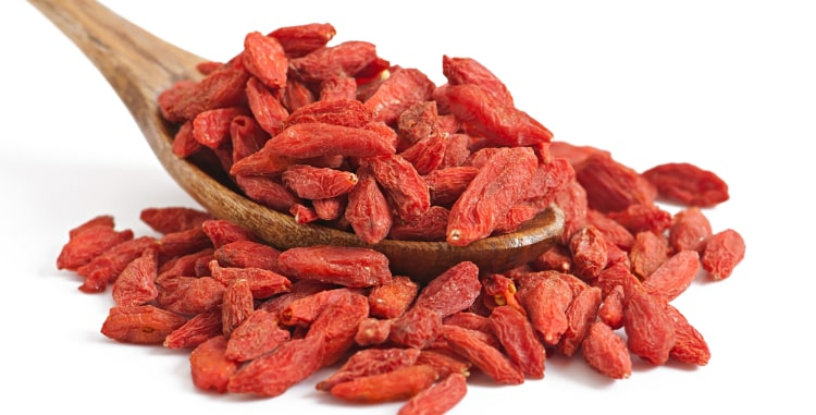 Goji Berries Go Great In Chef V's Easy Trail Mix Recipe