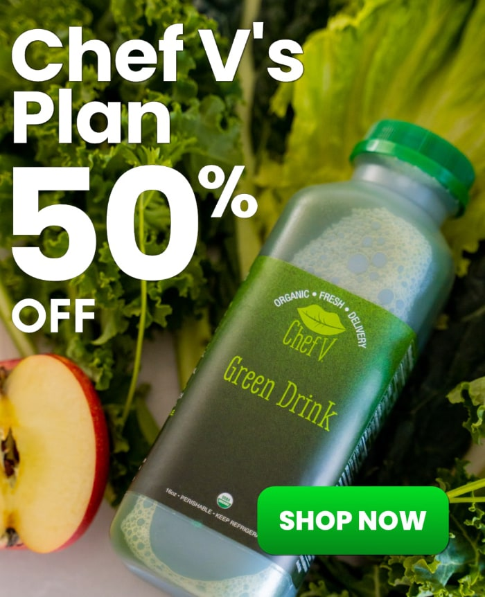 green drink 50% off