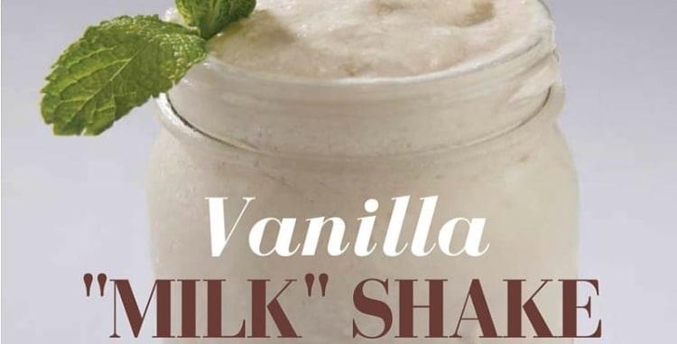 """Vanilla """"Milk"""" Shake"""