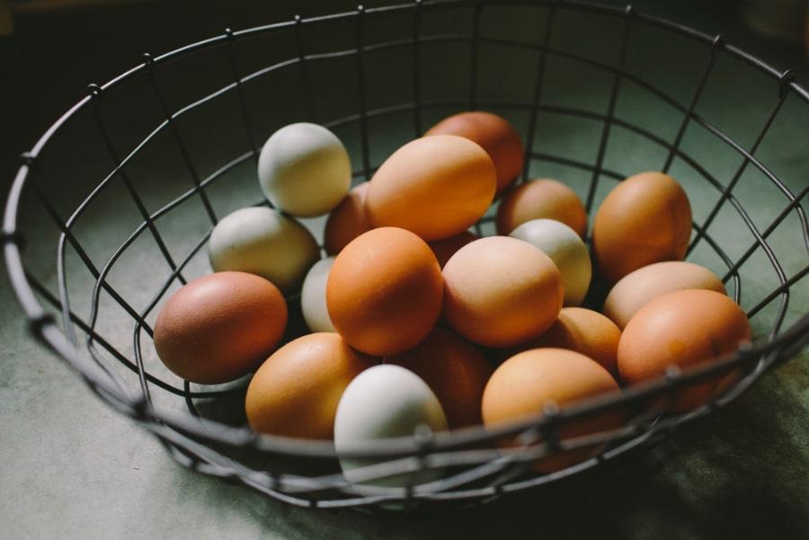 shopping for eggs