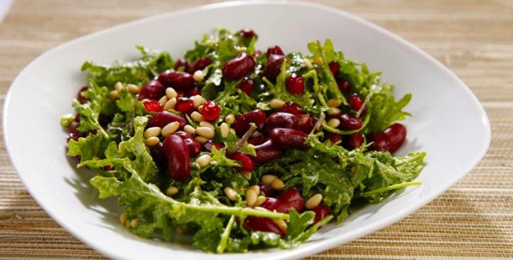 Super Food Power Salad with Pomegranates