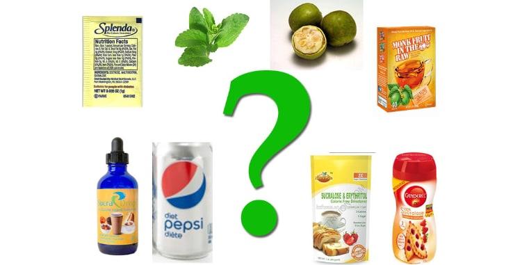 non-caloric artificial sweeteners