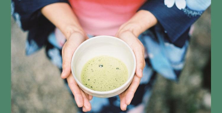 matcha tea in Japan