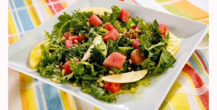 Sweet Watermelon Crunch Salad