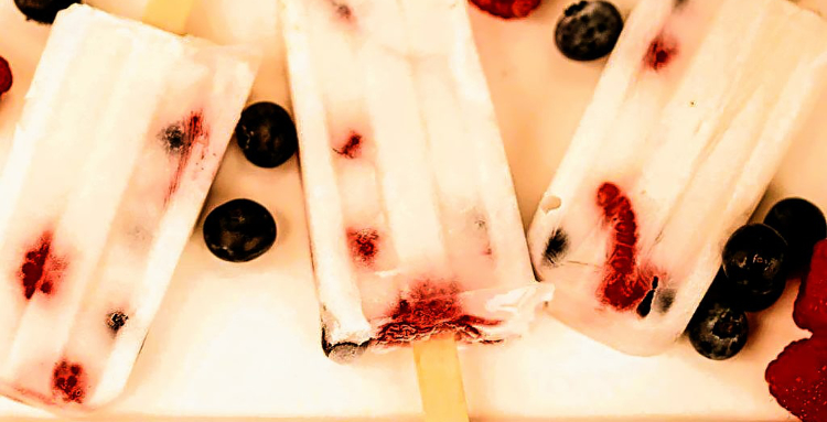 Red White & Blue Popsicles