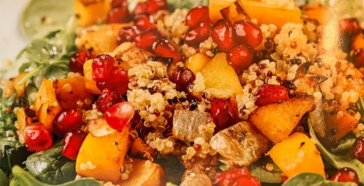 Warm Butternut Squash Salad