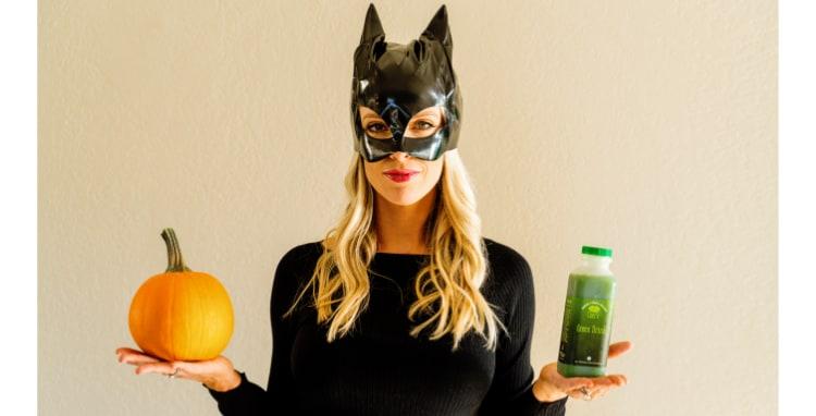 Don't Be Scared Of Pumpkin—Put 'em On Your Face & Eat 'Em!