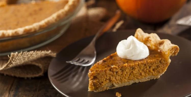 Vegan & Gluten Free Pumpkin Pie