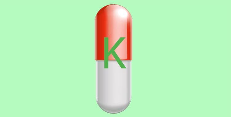 Vitamin K capsule